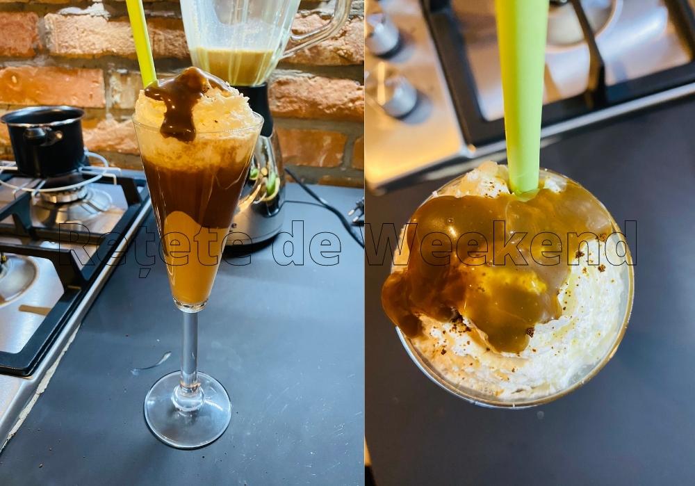Nescafe Frappe reteta